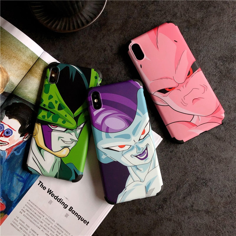 Dragon Ball Villains Phone Cases - Ikuzo Concept