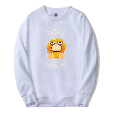 Psyduck Seeing People Gives Me Headaches Crewneck - Ikuzo Concept