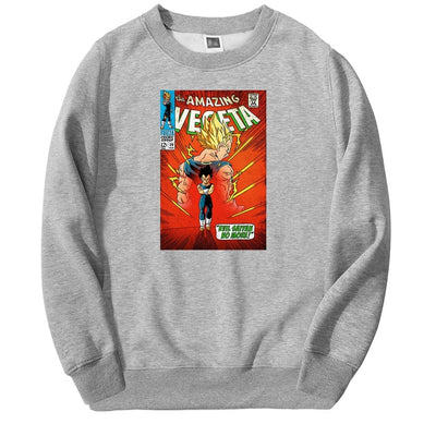 Vegeta Comic Book Cover Crewneck - Ikuzo Concept