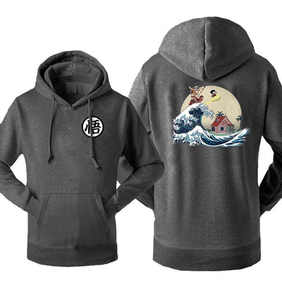 Dragon Ball Wave Hoodie - Ikuzo Concept