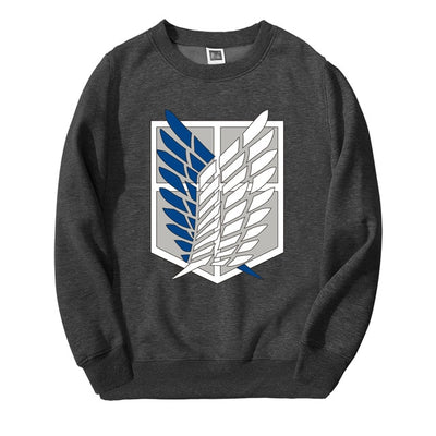Attack on Titan Wings of Freedom Crewneck - Ikuzo Concept