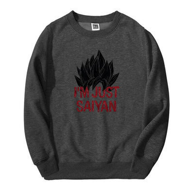 Dragon Ball I'm Just Saiyan Crewneck - Ikuzo Concept