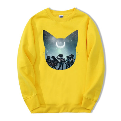 Sailor Moon Crescent Crewneck - Ikuzo Concept