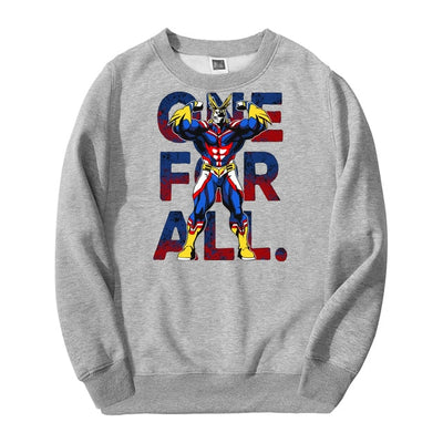 All Might One For All Crewneck - Ikuzo Concept