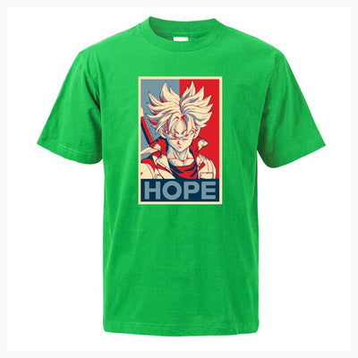 Trunks Hope Shirt - Ikuzo Concept