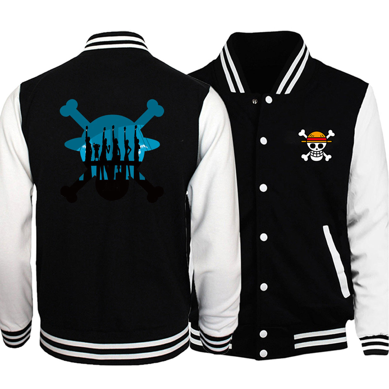 One Piece Colored Yatta Varsity Jacket - Ikuzo Concept