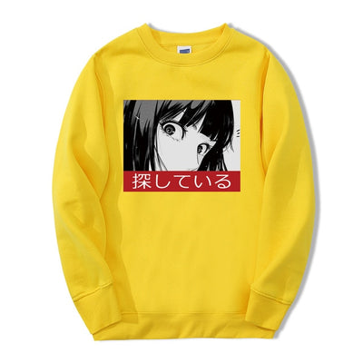Sad Eyes Crewneck - Ikuzo Concept