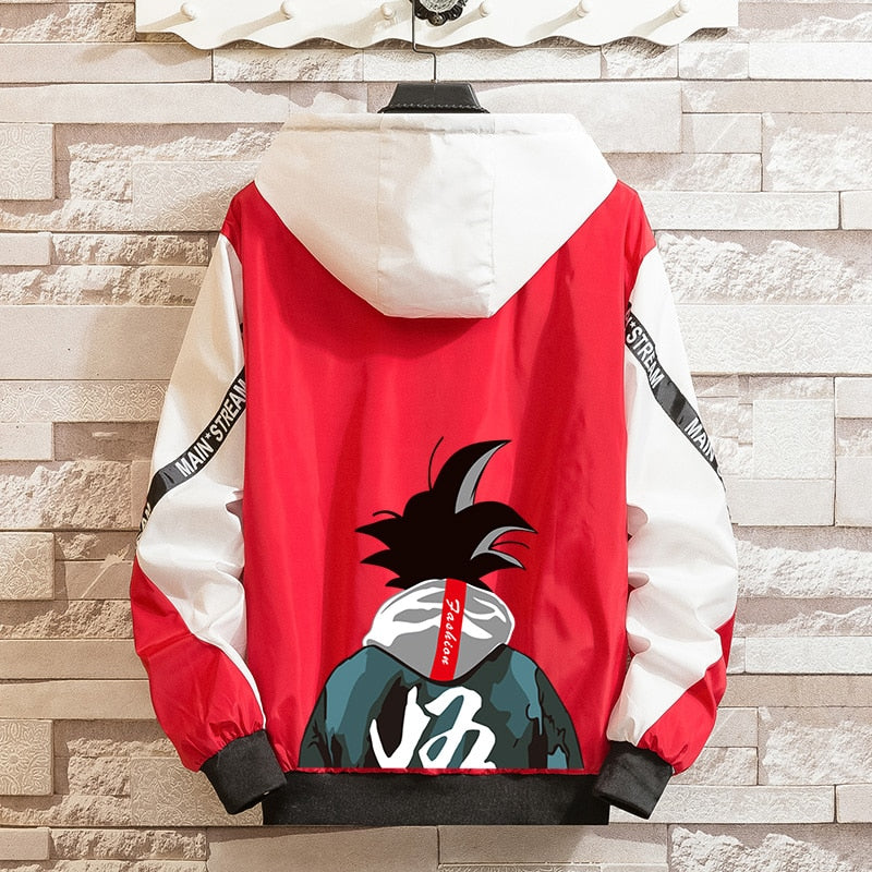 Urban Goku Hooded Jacket - Ikuzo Concept