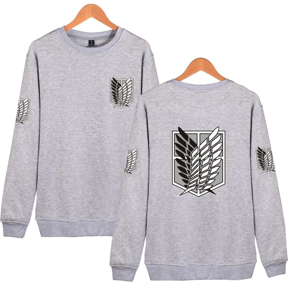 Wings of Freedom Sleeve Crewneck - Ikuzo Concept