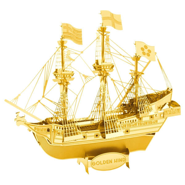 Golden Hind Ship Metal Model Kit