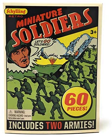 Retro Miniature Soldiers
