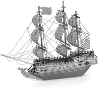 The Black Pearl Ship Metal Model Kit