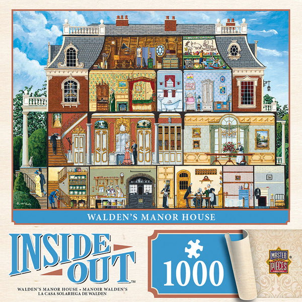 Walden's Manor House 1000-Piece Puzzle