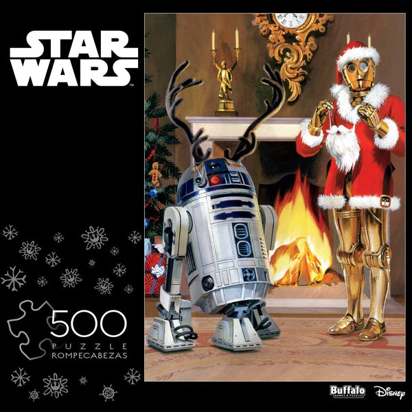 """All I Want for Christmas is R2-D2"" 500-Piece Puzzle"