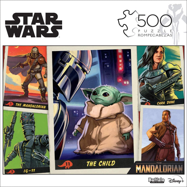 """Star Wars Trading Cards"" 500-Piece Puzzle"