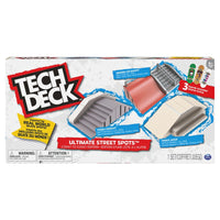 Tech Deck Ultimate Street Spots Coast To Coast Edition