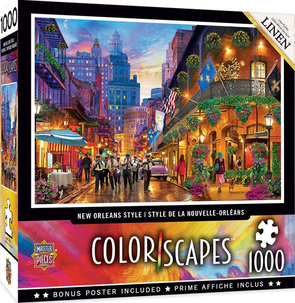 New Orleans Style 1000-Peice Puzzle