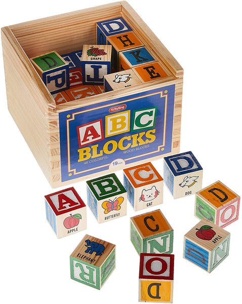 ABC Blocks 48 Piece pack