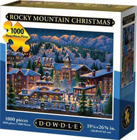 Rocky Mountain Christmas 1000-Piece Puzzle
