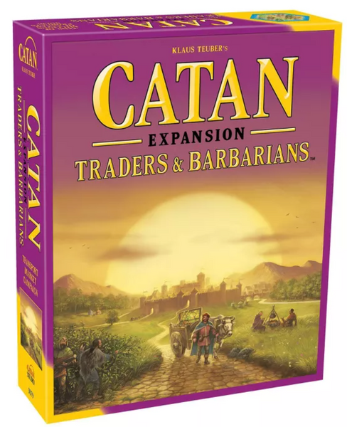 Catan Expansion Traders And Barbarians
