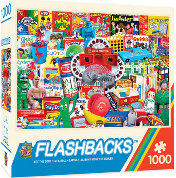 Flash Backs Let The Good Times Roll 1000-Peice Puzzle
