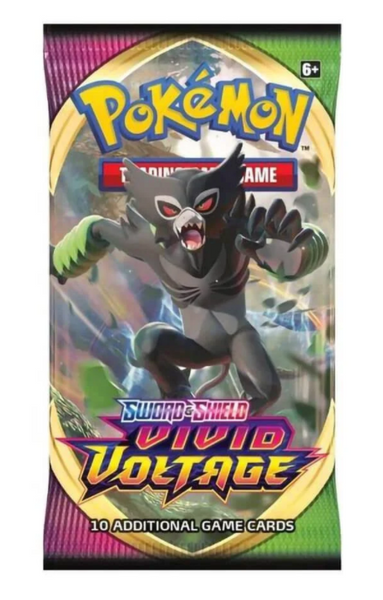 Pokémon Sword And Shield Vivid Voltage Booster Pack
