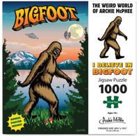 I Believe In BigFoot 1000 Piece Puzzle