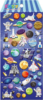 Space Puffy Stickers