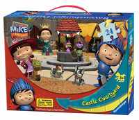 Mike the Knight Castle Courtyard 24-Piece Floor Puzzle