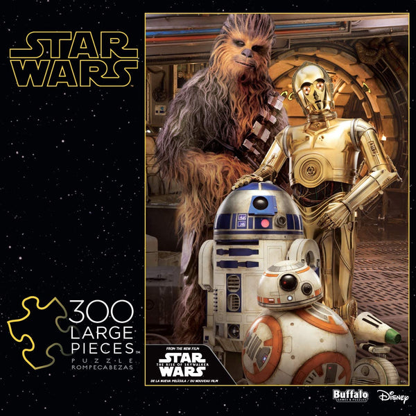 """Chewbacca and the Droids"" 300-Piece Puzzle"