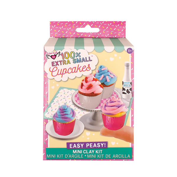 100% Extra Small Mini Clay Kit Cupcakes