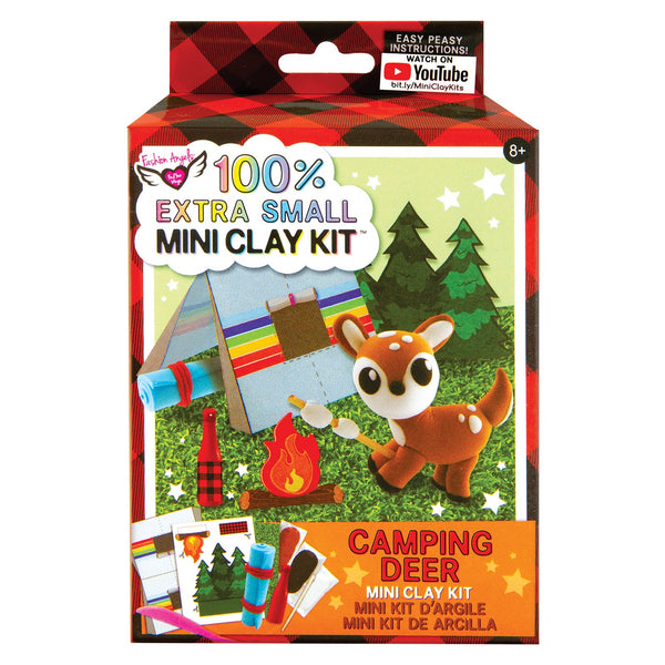 100% Extra Small Mini Clay Kit Camping Deer