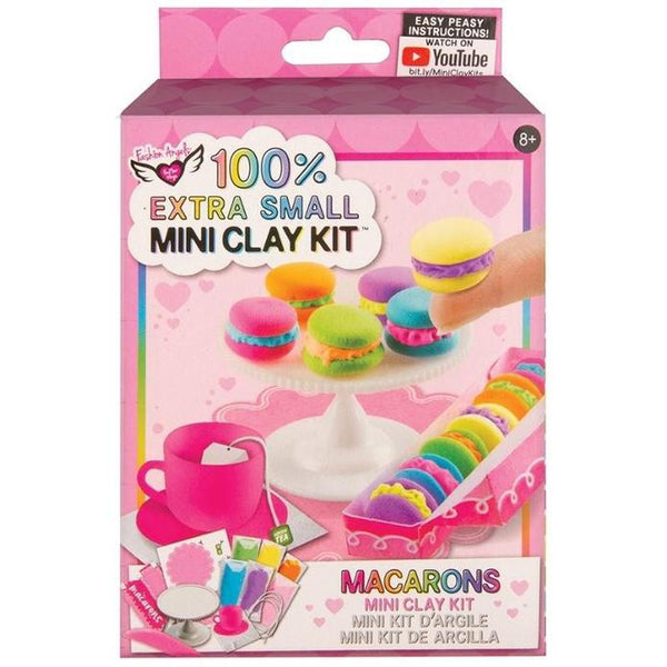 100% Extra Small Mini Clay Kit Macarons
