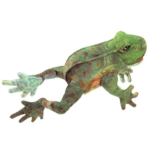 Jumping Frog Hand Puppet