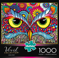 Owl Eyes 1000-Piece Puzzle