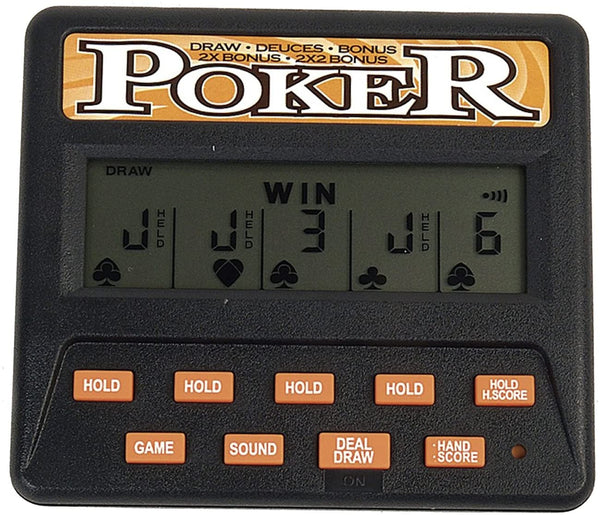 5 in 1 Electronic Poker Game