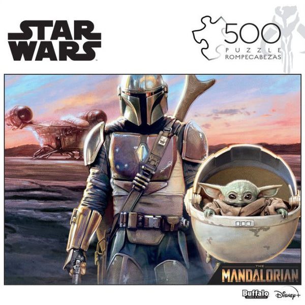 Star Wars: The Mandalorian - This Is The Way - (Baby Yoda) 500 Piece Puzzle