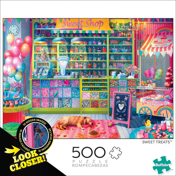 Sweet Treats 500-Piece Puzzle