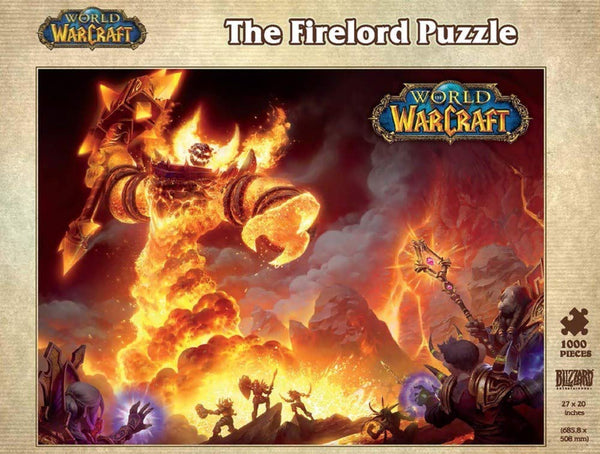 World of Warcraft Ragnaros The Firelord 1000-Piece Puzzle