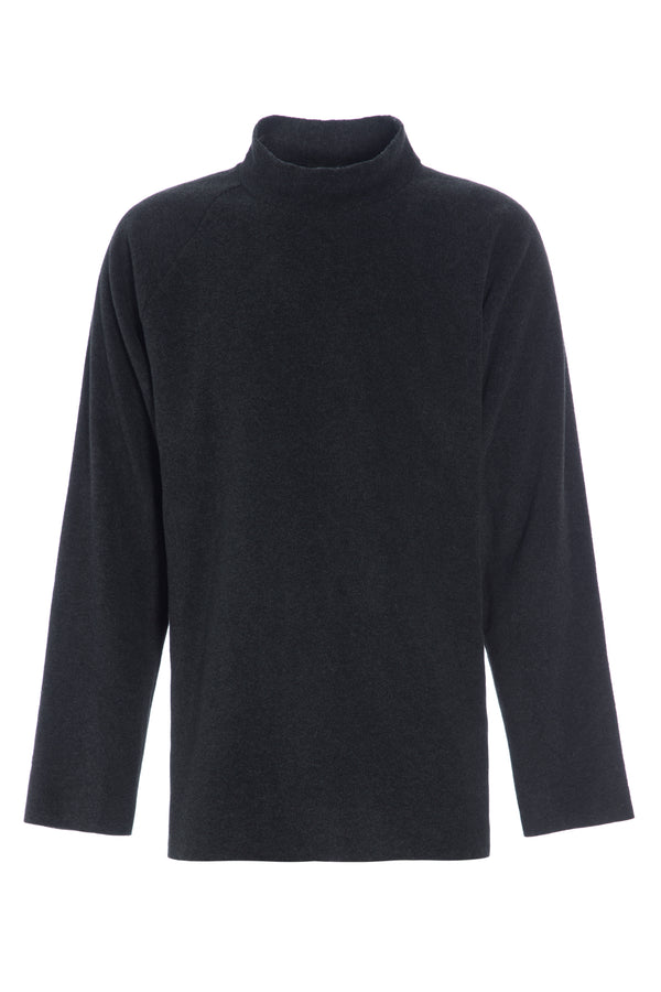 CARL BY STEFFENSEN COPENHAGEN ONE SIZE SWEATER MEN - 1016C SWEATERS SOFT BLACK 914