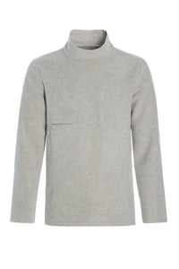 Sweater with high neck - 1003 - SAND