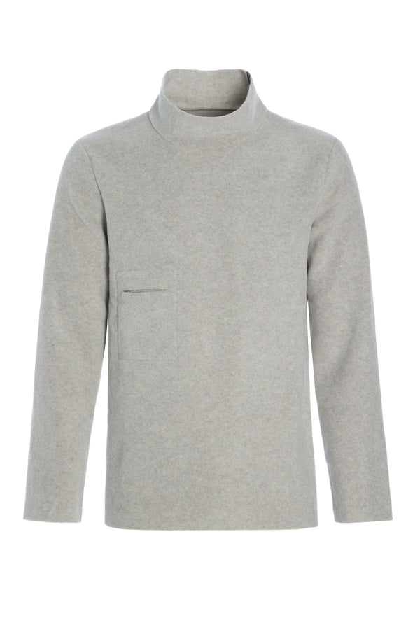 CARL BY STEFFENSEN COPENHAGEN Sweater with high neck - 1003 SWEATER SAND 805