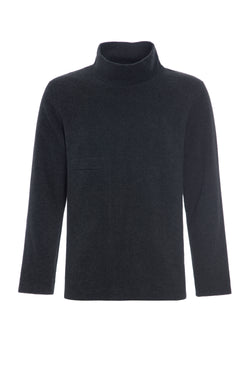 CARL BY STEFFENSEN COPENHAGEN Sweater with high neck - 1003 SWEATER SOFT BLACK 914
