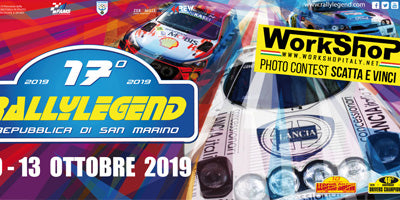 Rally Legend 2019, contest scatta e vinci!