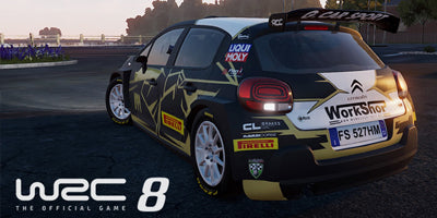 Work Shop Italy nel videogame WRC8