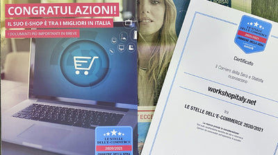 Work Shop Italy tra i migliori e-commerce in Italia