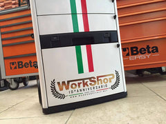 Trolley Beta Utensili C41H Bianco Workshopitaly 10° Anniversario