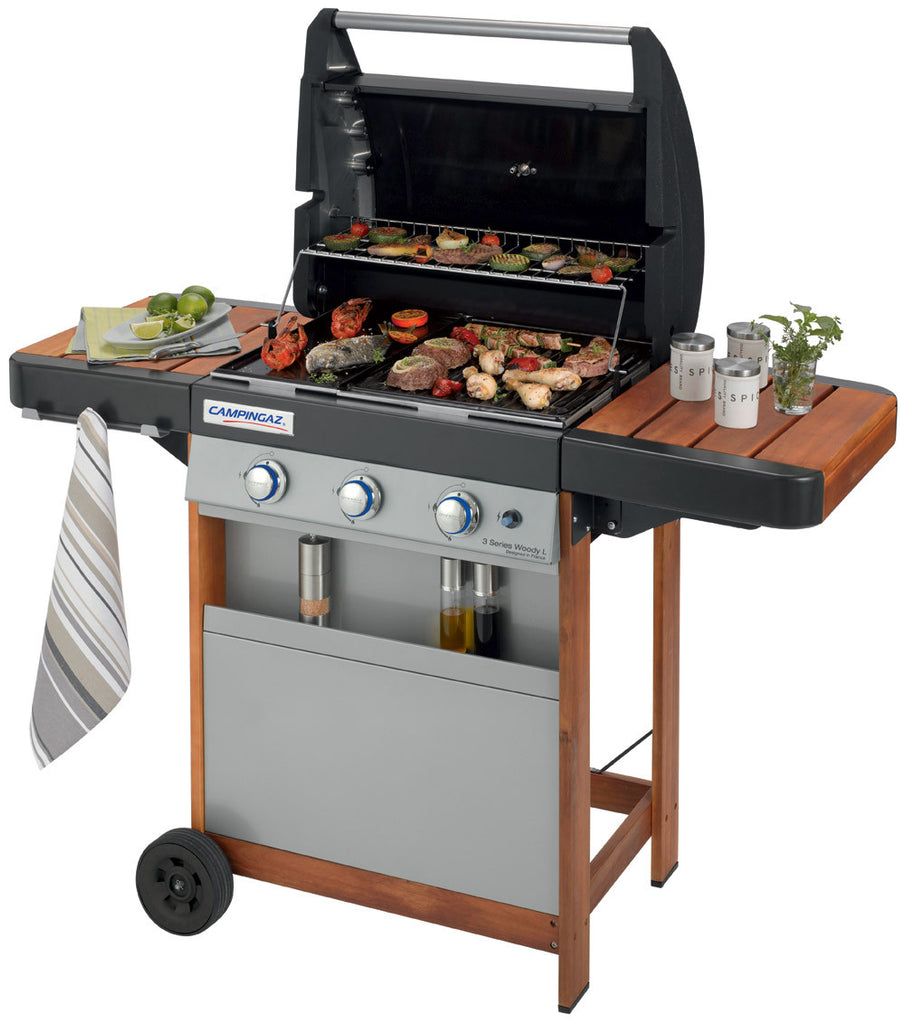 Barbecue Campingaz 3 Fuochi Australian 3 Series Woody