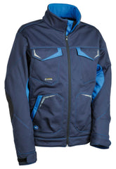 "Giubbotto Cofra ""mirassol"" colore navy/royal winter softshell"
