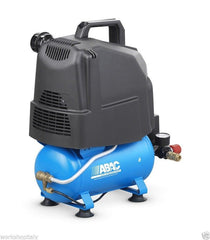 COMPRESSORE ABAC 6lt. 1HP Start silent